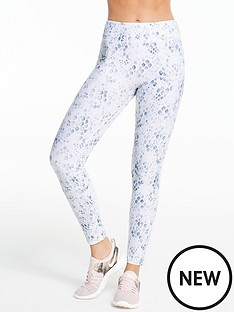 michelle-keegan-snake-printed-gym-leggings