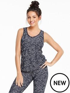 michelle-keegan-monochrome-printed-gym-vest