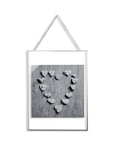 arthouse-pebble-heart-framed-print