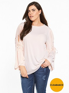 v-by-very-curve-tie-sleeve-jersey-top