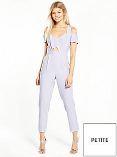 miss-selfridge-petite-cold-shoulder-jumpsuit