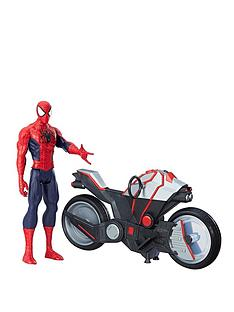 marvel-marvel-spider-man-titan-hero-series-spider-man-figure-with-spider-cycle