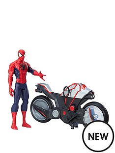 marvel-marvel-spider-man-titan-hero-series-spider-man-figure-with-spider-cycle