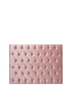 ideal-home-oscar-velvet-headboard