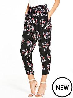 river-island-floral-black-trouser