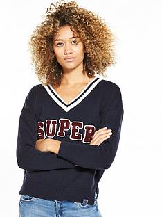 superdry-logo-v-neck-knit