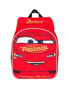 59ca7d978fb Disney Cars Cars 3 Embrioded Plush Front Backpack