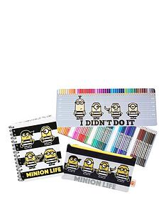 despicable-me-3-bts-stationery-set