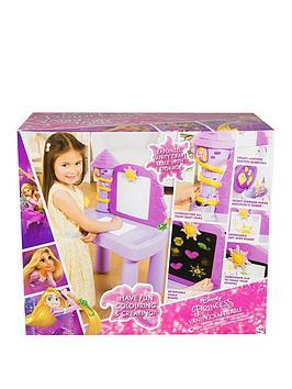 disney-princess-rapunzel-vanity-craft-desk