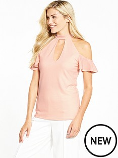 v-by-very-cold-shoulder-v-plunge-top