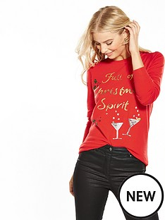 v-by-very-full-of-christmas-spirit-embellished-jumper