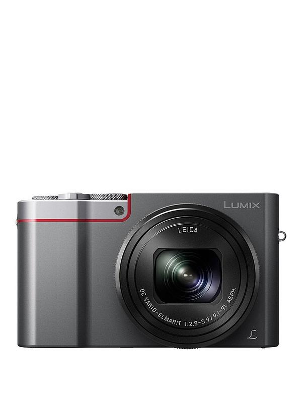 Lumix DMC-TZ100 Digital Travel Camera with Leica Camera Lens - Silver