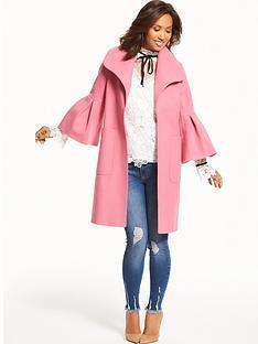 myleene-klass-bell-sleeve-coat