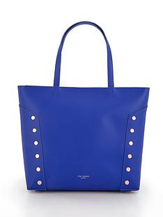 ted-baker-flat-stud-detail-shopper