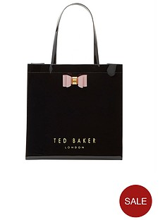 ted-baker-icon-bow-detail-large-shopper-black