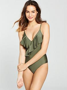 v-by-very-shimmer-frill-swimsuit