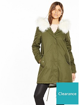 v-by-very-long-army-swing-parka