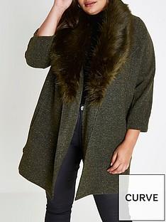 ri-plus-jersey-faux-fur-collar-blazer