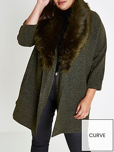 ri-plus-jersey-fur-collar-blazer