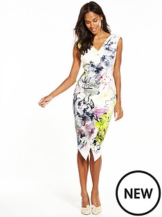 coast-mirabeaunbspprinted-scuba-shift-dress