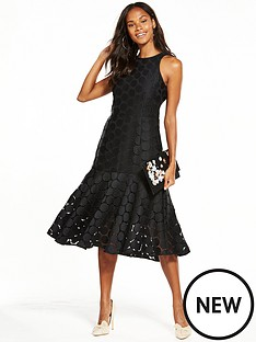 coast-chelsea-lace-peplum-dress-black