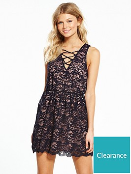 miss-selfridge-petite-all-over-lace-dress