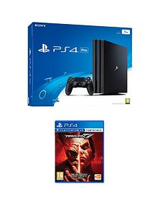playstation-4-playstation-4-pro-console-with-tekken-7-with-plus-optional-extra-controller-andor-12-months-playstation-network