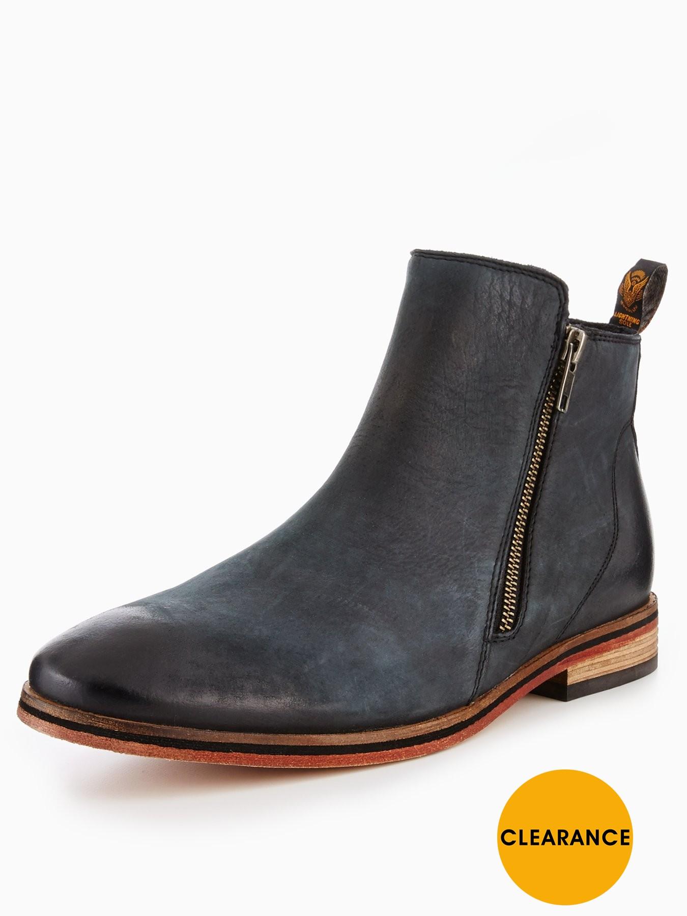 Superdry Trenton Zip Boot 1600189986 Men's Shoes Superdry Boots