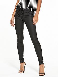 v-by-very-coated-lace-up-fly-skinny-jean