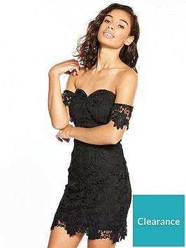 v-by-very-petite-bardot-lace-dress