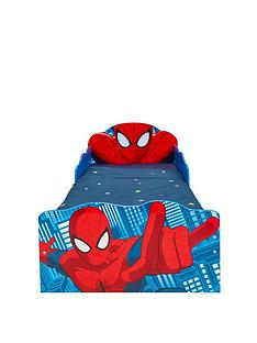 spiderman-spider-man-light-up-toddler-bed-with-underbed-storage-by-hellohome