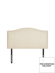 faux-leather-curve-headboard
