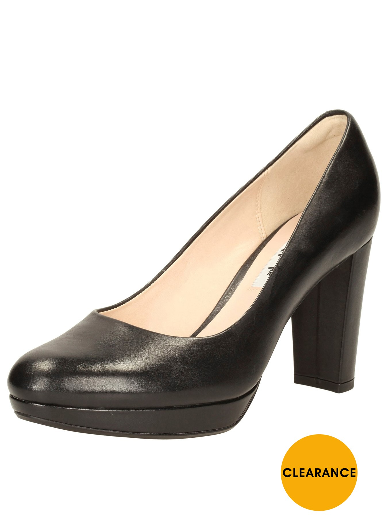Clarks Kendra Sienna Court Shoe 1600190888 Women's Shoes Clarks Heels
