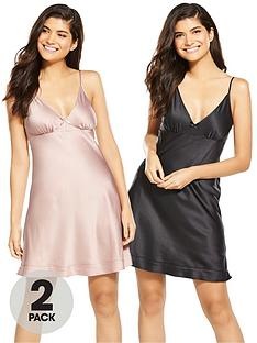 v-by-very-2-pack-satin-chemise