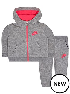 nike-nike-baby-girl-nsw-fleece-hooded-full-zip-tracksuit