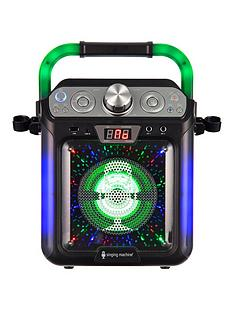 singing-machine-sml682btbk-bluetooth-cdg-tablet-karaoke-machine-black