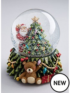 gisela-graham-santa-with-tree-led-snow-globe-christmas-decoration