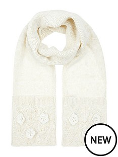 monsoon-monsoon-pearl-daisy-knitted-scarf