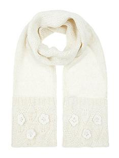 monsoon-pearl-daisy-knitted-scarf