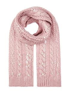 monsoon-shimmer-pearl-cable-scarf