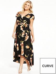ax-paris-curve-floral-maxi-dress