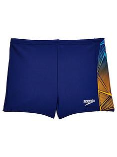 speedo-boys-star-kick-logo-panel-aquasho