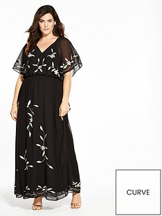 v-by-very-curve-embroidered-maxi-dress-black