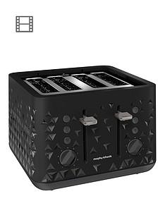 morphy-richards-prism-4-slice-toaster-black