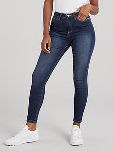 v-by-very-short-florence-high-rise-skinny-jeans-indigo