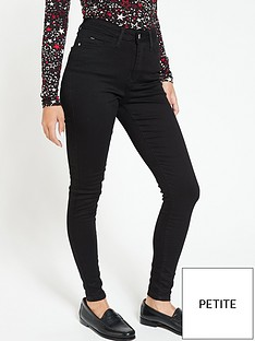 v-by-very-short-florence-high-rise-skinny-jeans-black