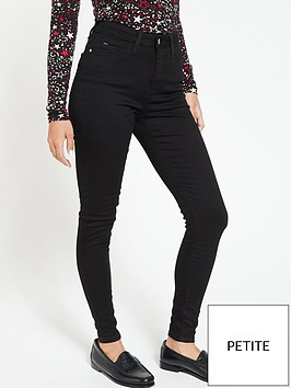v-by-very-valuenbspshort-florence-high-rise-skinny-jeans-black