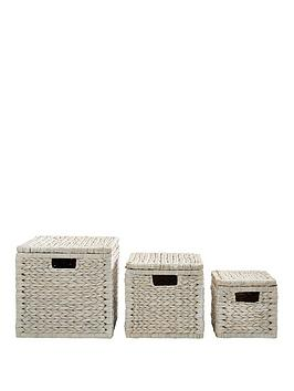 set-of-3-arrow-weave-lidded-storage-boxes