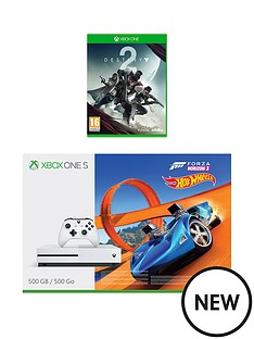 xbox-one-s-500gb-console-and-forza-horizon-3-hot-wheels-destiny-2