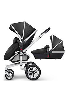 silver-cross-surf-3-chrome-pram-and-pushchair